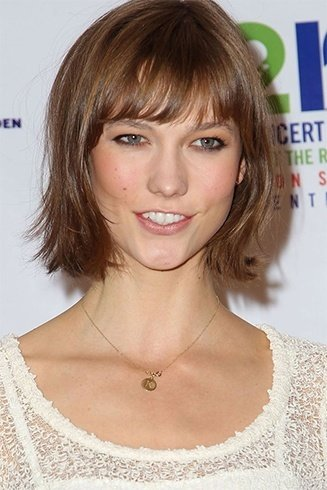 Bangs styles for women