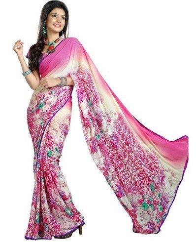 Beautiful chiffon sarees