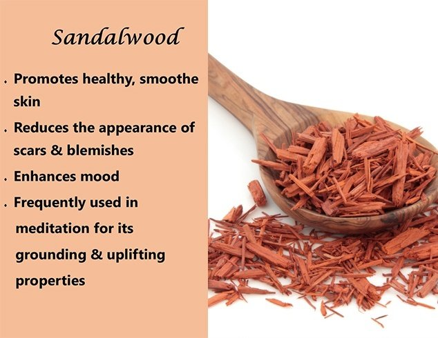 Benefits of sandalwood on skin
