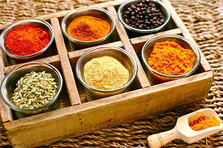 Benefits of spices on hair