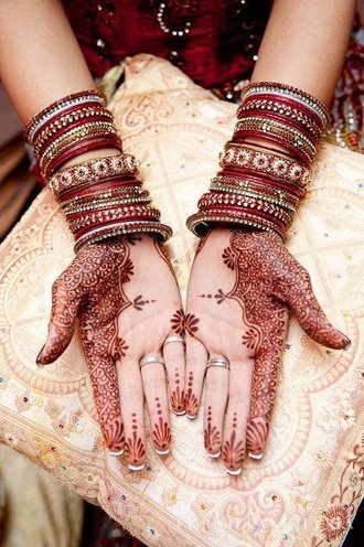 best and simple karva chauth mehndi designs