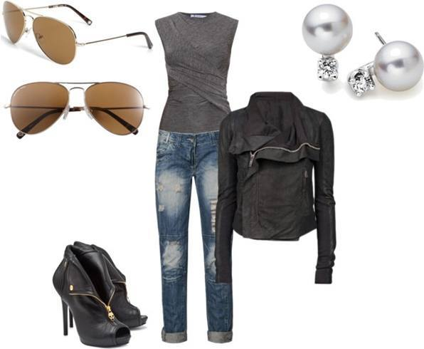 f87c288cbb60 Biker Chick Fashion For The Daredevil Girls
