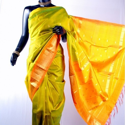 Chettinad silk saree