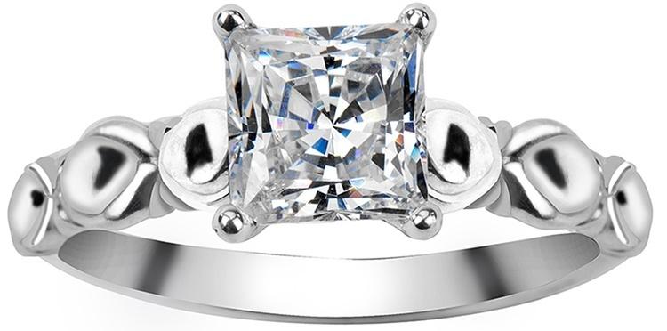 Daimond silver rings