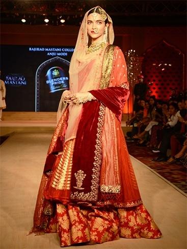 Deepika Padukone at blenders fashion tour