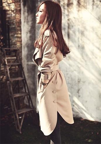 Designer trench coats
