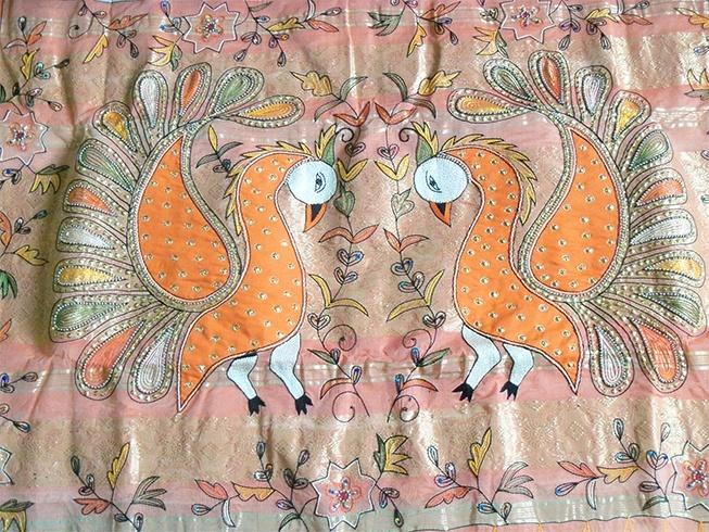 Designer tussar silk sarees