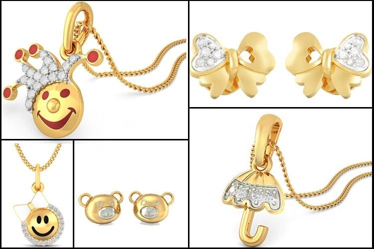 Diamond Jewellery for Kids