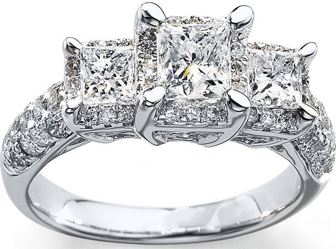 Diamond promise ring ideas