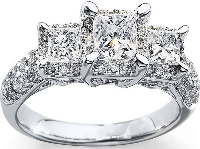 Diamond promise ring ideas