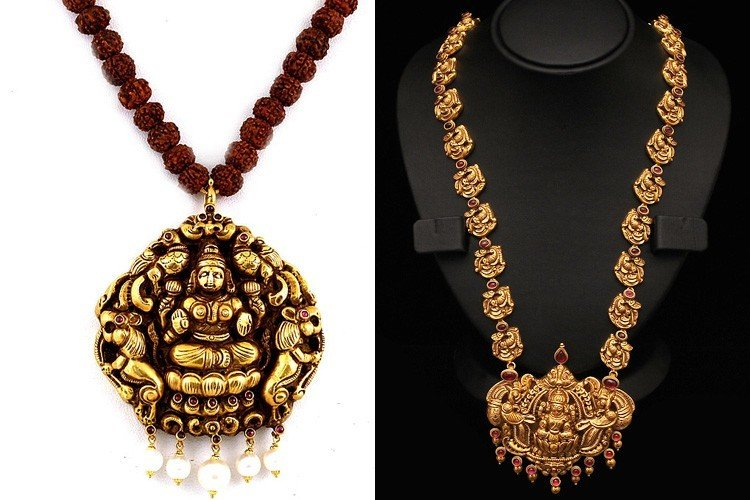 Gold temple jewellery