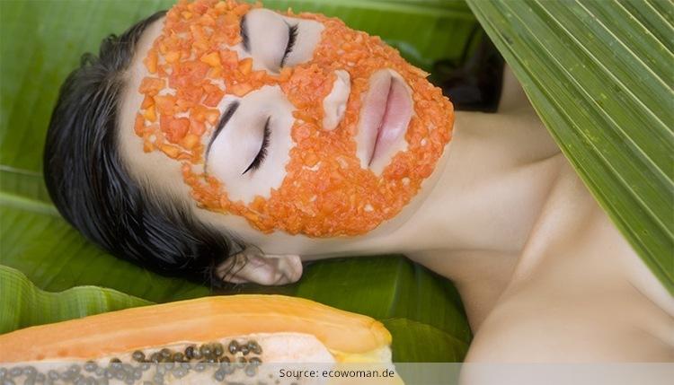Homemade Papaya Face Packs