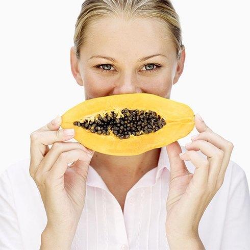 How to make papaya face pack