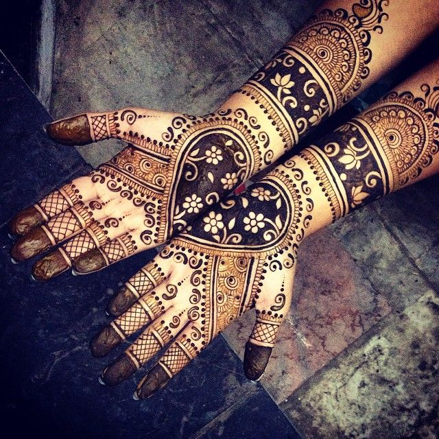 indian bridal mehndi images