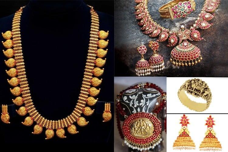 Indian temple jewellery