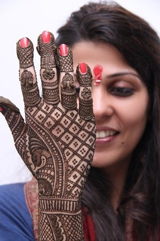 beautiful karva chauth mehndi designs images