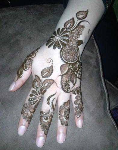 karwa chauth mehendi design