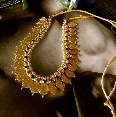 Kasu mala Kerala jewellery patterns