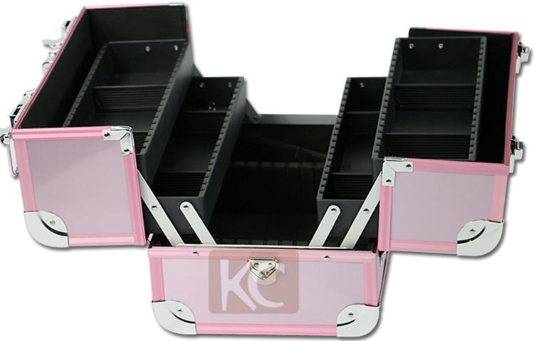 KC aluminum makeup box