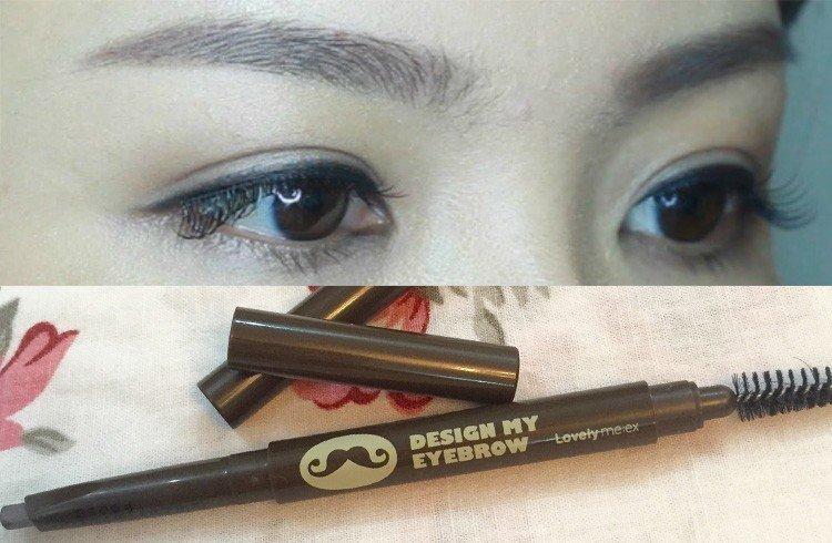 Korean eyebrow makeup