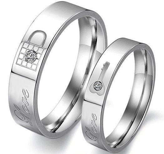 Love lock rings