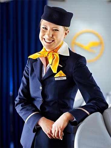 Lufthansa air uniform
