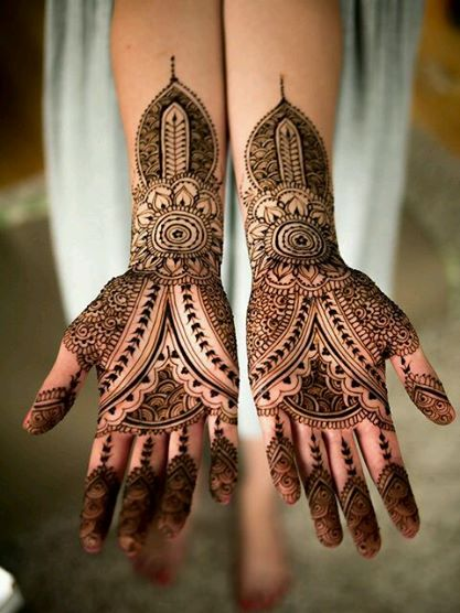 mehndi designs for karva chauth