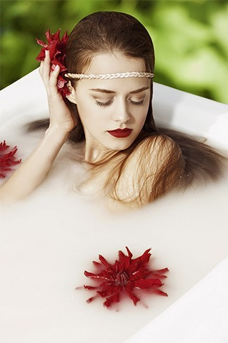 Milk bath benefits