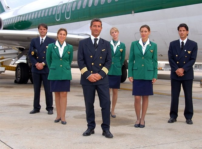 Most stylish cabin crews