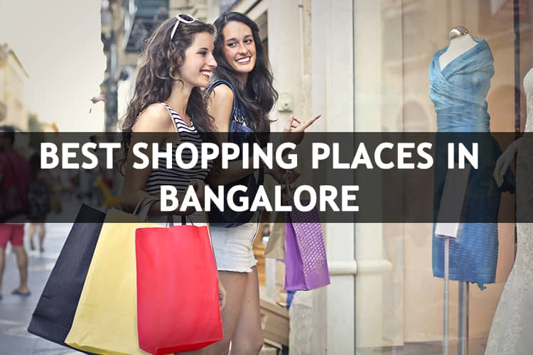 Shopping Places in Bangalore