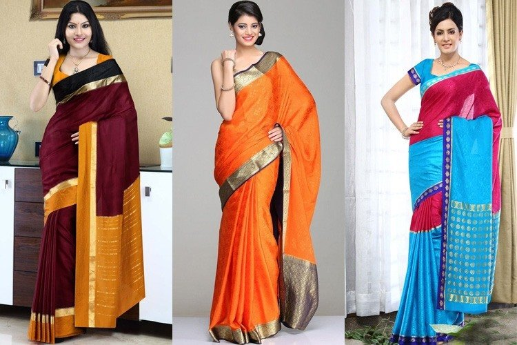 The Shimmering Effect Of Mysore Silk Sarees