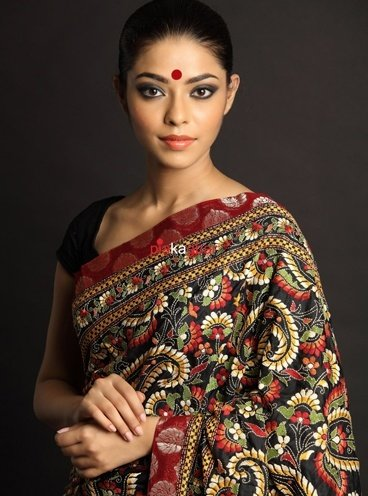 north indian saree