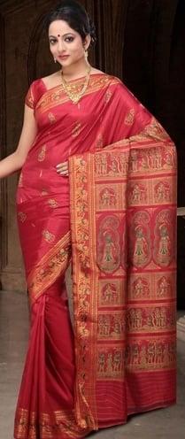 north indian sarees