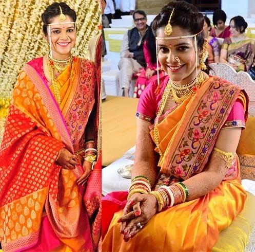 Paithani saree for bride