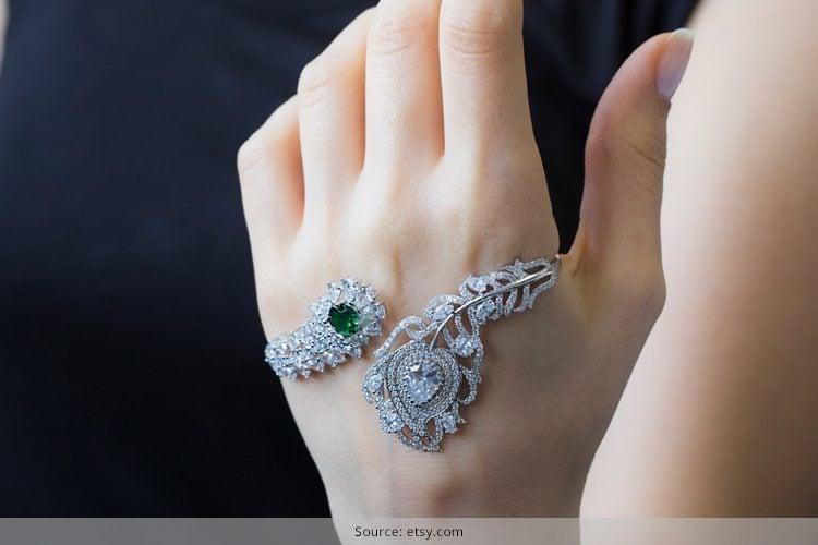 Palm Cuff Bracelet