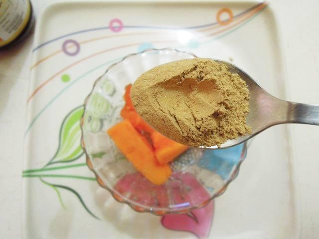 Papaya face pack for skin