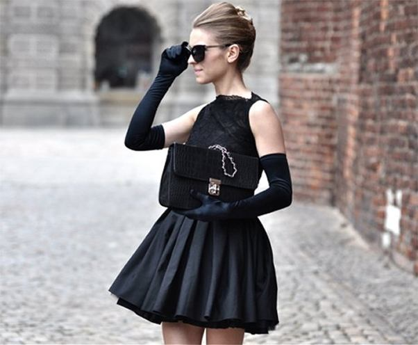 How To Wear A Little Black Dress This Winter