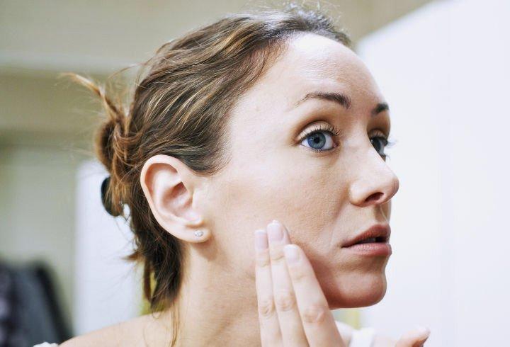 Poor Facial Skin Care