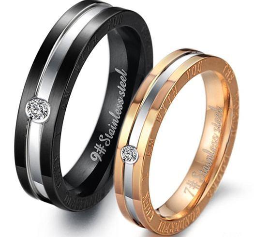 Promise rings for wedding