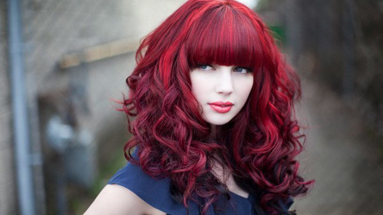 Strange Red And Black Hairstyles The Latest Color Trend That Were In Natural Hairstyles Runnerswayorg