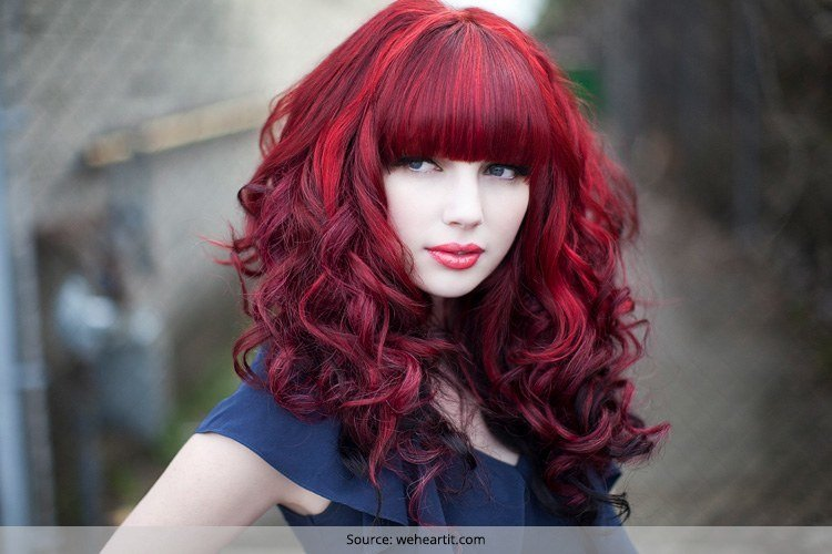Brilliant Red And Black Hairstyles The Latest Color Trend That We39Re In Hairstyle Inspiration Daily Dogsangcom