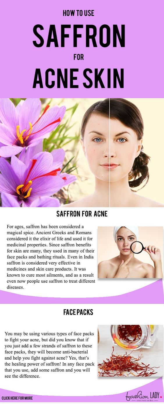 Saffron for Acne Skin