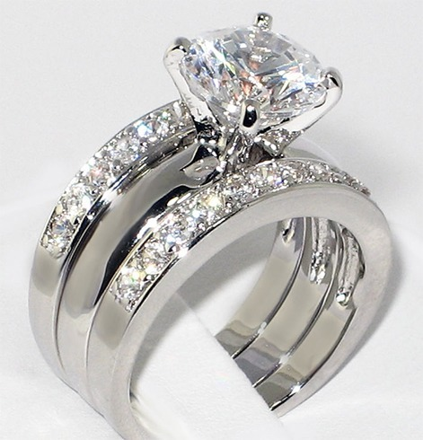 Silver ring sets