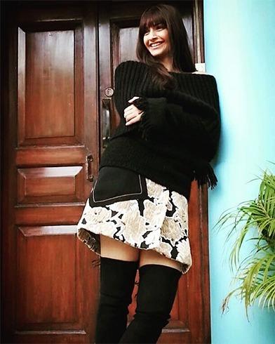 Sonam Kapoor high boots