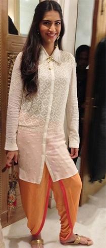 Sonam Kapoor suits