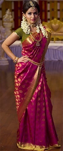 South indian style saree