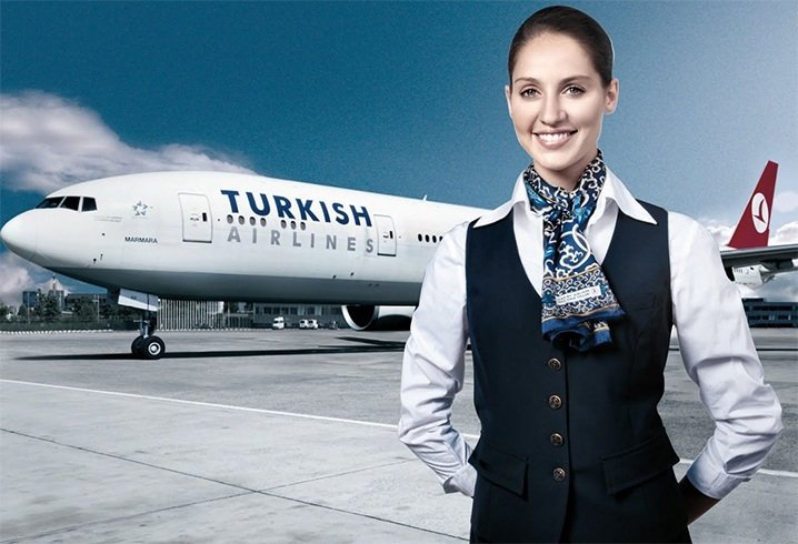 Turkish cabin crew dress