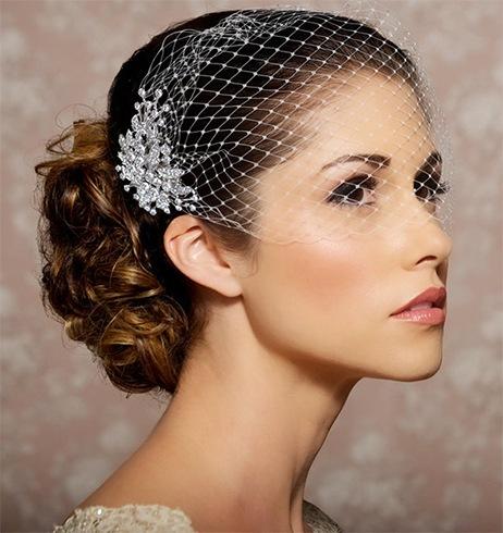 Veil hair accessory