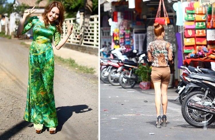 Vietnam dresses
