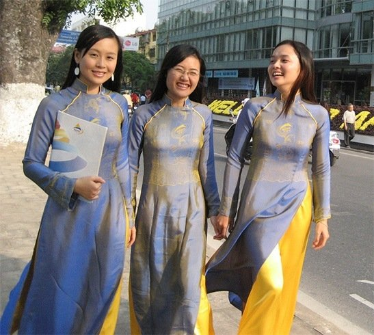 Vietnam high school uniform